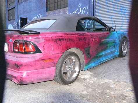 One Of A Kind Custom Candy Paint Job.