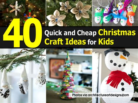 quick christmas crafts for children