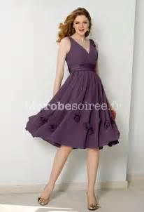 robe pour ceremonie mariage robe de cocktail pas cher courte à bretelles fleurs brodées