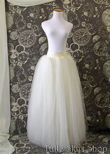 Tuto Tutu Tulle : ivory tulle skirt adult full length tutu with wide lycra ~ Melissatoandfro.com Idées de Décoration