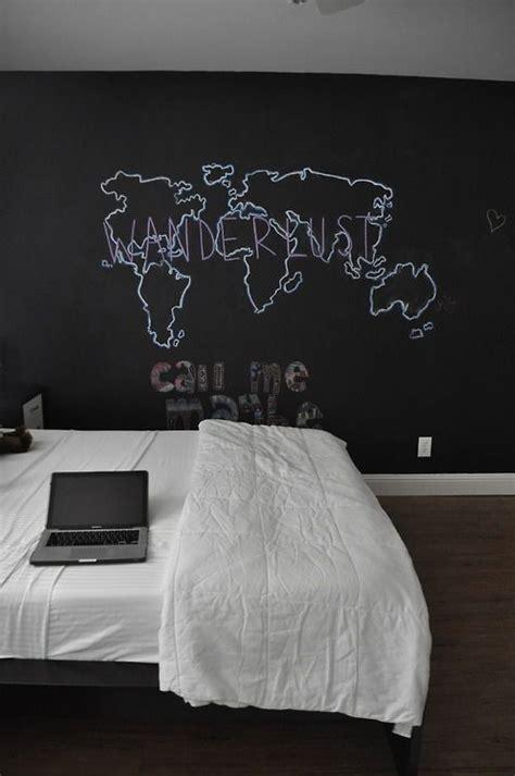 chalkboard wall in bedroom 25 cool chalkboard bedroom d 233 cor ideas to rock digsdigs