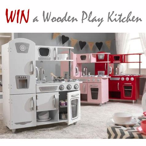 Win A Beautiful Wooden Play Vintage Kitchen