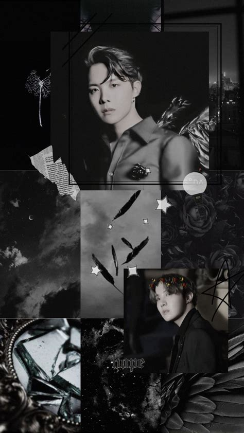 poster aesthetic hitam