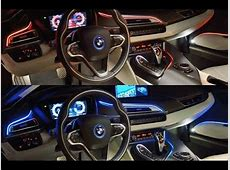 Bmw i8 Interior at Night YouTube