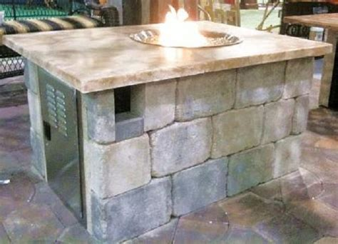 build your own fire pit table nature 39 s design decor more fire tables fire pits