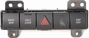 Mopar U00ae 4602508af Oem Rubicon Edition Switch Pod For 07