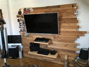Tv Wandpaneel Holz : best 25 tv wand holz ideas on pinterest tv wand do it yourself tv wand wohnzimmer and tv ~ Markanthonyermac.com Haus und Dekorationen