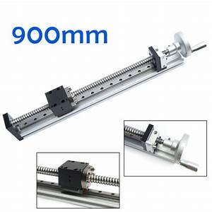 Manual Linear Rail Guide Slide Stage Actuator Ball Screw