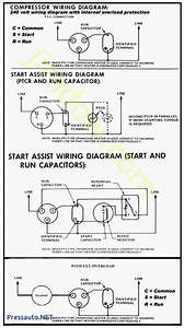 Hard Start Capacitor Wiring Diagram Throughout Starting In