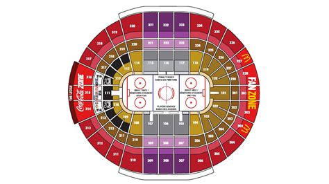 bell siege social arena map canadian tire centre