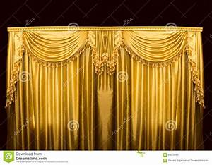 gold curtains on stage stock photo image 68579180 With gold curtains background