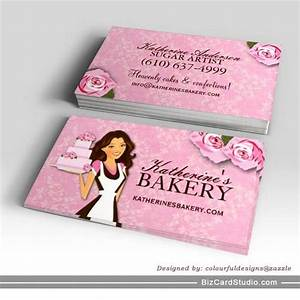 Cake bakery business cards for Cake business card ideas