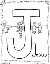Jesus Coloring Children Bible Letter Ministry Alphabet Sheet Preschool Colouring Sheets Loves Enfants Les Sunday Jésus Crafts Template Pdf Letters sketch template