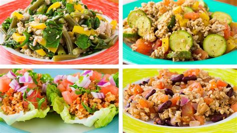 It is generally characterized by insulin resistance, where the body does not fully respond to insulin. 4 Ground Turkey Recipes For Weight Loss | Healthy Recipes ...