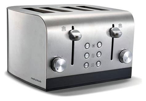 morphy richards toaster argos morphy richards 4 slice toaster brushed stainless steel