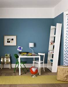Grau Blau Wandfarbe : grau blau wandfarbe ihr traumhaus ideen ~ Frokenaadalensverden.com Haus und Dekorationen