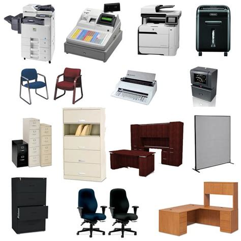 Office Supplies Used by Office Equipment Furniture