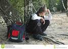 Student-truant stock image. Image of depressed, school ...
