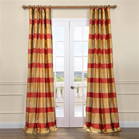 Plaid Curtains And Drapes - get dynasty silk taffeta plaid curtains and drapes