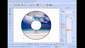 how to make a cd label youtube With how to create cd labels