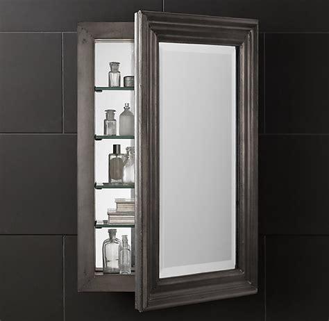 restoration hardware medicine cabinet zinc medicine cabinet bath pinterest medicine