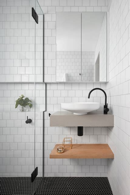 Yarraville Home   How to Maximise Space in a Small Ensuite