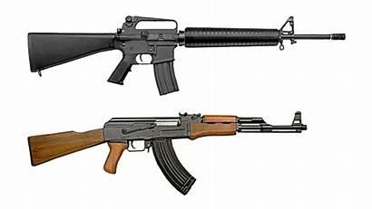 Rifle Assault M16 Akm Russian Kalash