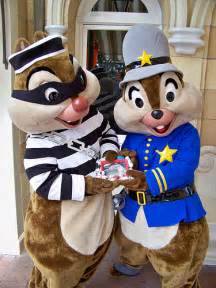 Disneyland Chip and Dale Halloween