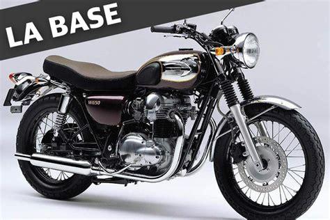 Modification Kawasaki 650 by Kawasaki W650 Par Modification Motorcycles Atelier De