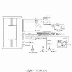 Keyless Entry System Wiring Diagram