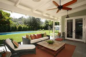 Porch Roof Designs Farmhouse Ceiling Fan Enclosed Decorating Ideas Charming