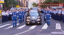 """Funeral service for NSW Paramedic """"Mick Wilson"""" concluded ..."""