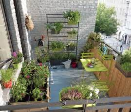 Potager Terrasse Appartement by D 233 Coration Balcon Potager