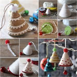 creative ideas diy adorable christmas tree ornaments with yarn or twine