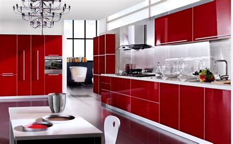 perfect red country kitchen cabinet design ideas for red kitchen cabinets tjihome
