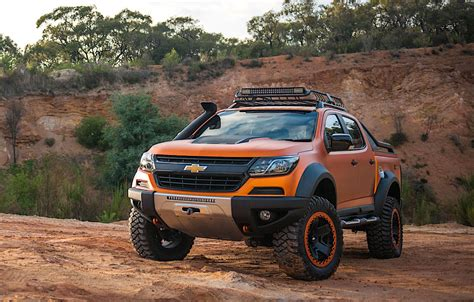 chevy colorado extreme concept   The Fast Lane Truck