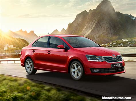Allnew 2017 Skoda Rapid Launched Price From 819 Lakh