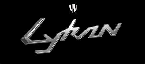 W Logo Car by 2014 W Motors Lykan Hypersport In 40 Amazing New