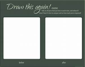 draw this again template by omenaadopts on deviantart With draw this again meme template