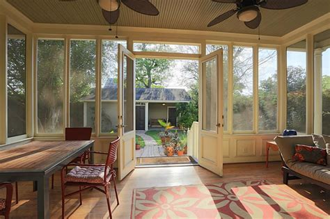 Back Porch Designs For Houses by Screened Back Porch Ideas For The Home