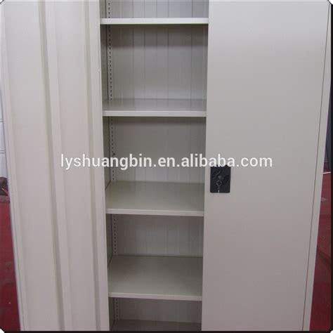 armoire bureau metallique armoire de rangement pour garage atelier 1850x850x390mm