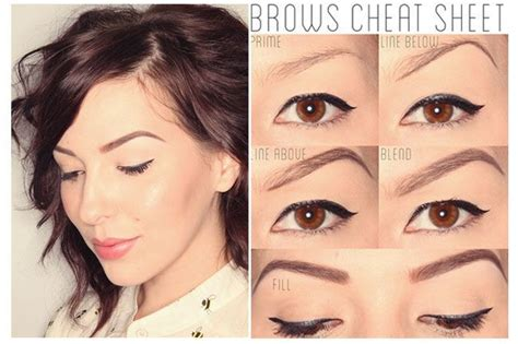 Eyebrow Makeup Tips Step By Step Eyebrow Makeup Tutorial