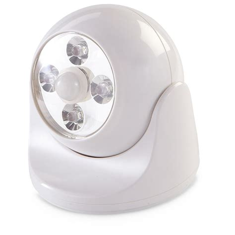 battery operated motion light maxsa battery powered motion activated led anywhere light