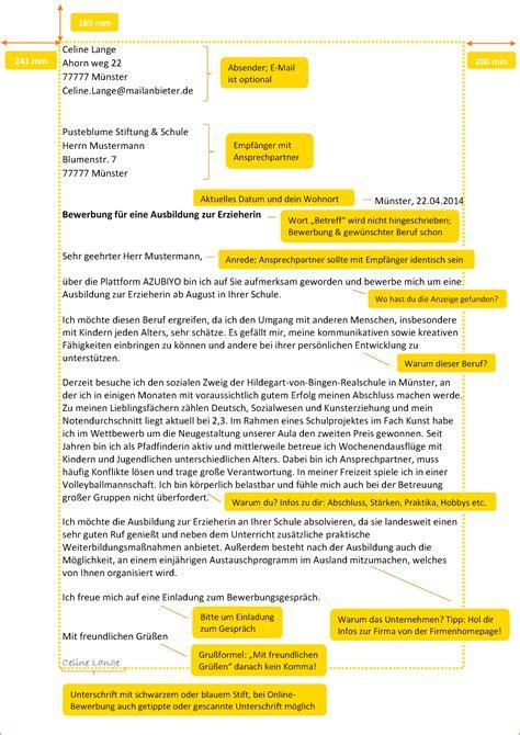 anschreiben erzieherin vorlagen vorlagen