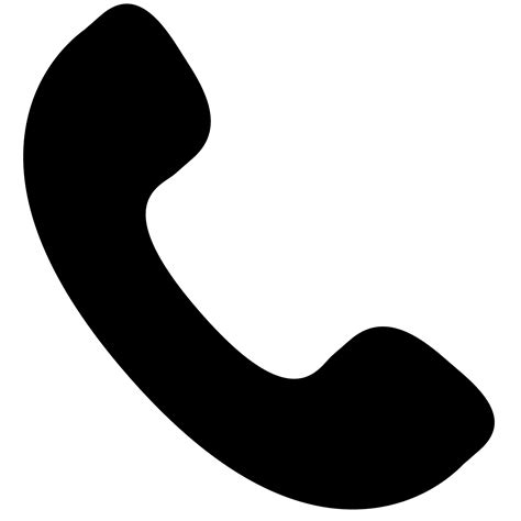 telephone icon vector transparent phone clipart transparent hd letters