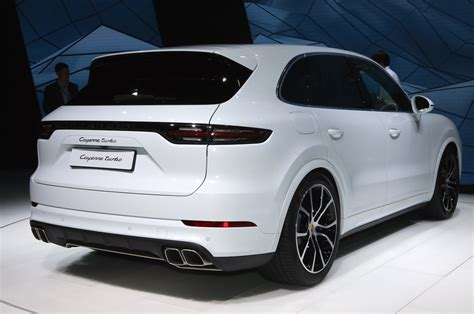 2019 Porsche Cayenne Turbo Spices Up Frankfurt With 550 Hp
