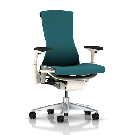 herman miller bureau herman miller embody chair peacock rhythm with white frame