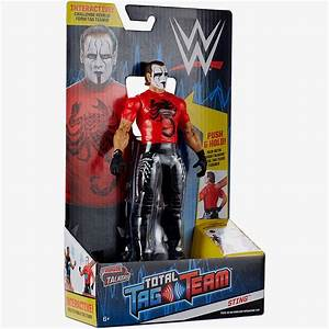 Sting WWE Tough Talkers Total Tag Team