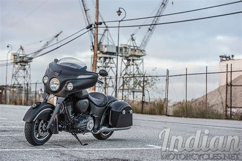 Indian Introduces The 2016 Chieftain Dark Horse