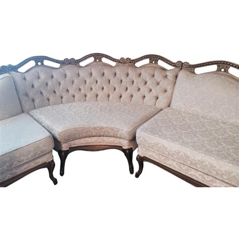 antique sectional sofa antique sectional sofa aptdeco 1297